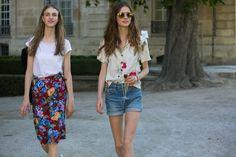 estampas coloridas, verão, jeans