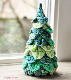 Christmas Tree By Yarnplaza - Free Crochet Pattern - (ravelry)