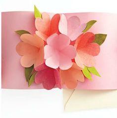 Cartão Pop-up para o Dia das Mães - Pra Gente Miúda