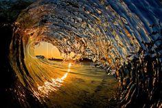 Amazing shorebreak photography by Clark Little