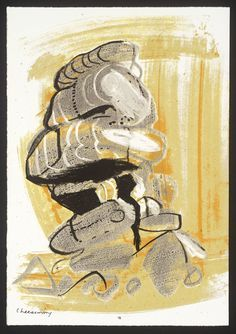 John Piper, '[no title]' 1978