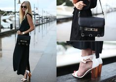 Acne Silk Maxi, Topshop Reflect Heels, Proenza Schouler Ps11