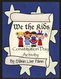 Constitution Day from Buzzing About Learning on TeachersNotebook.com (12 pages)