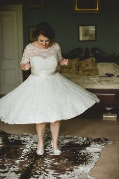 Wedding Flossy Dossy Lace Dress Bride http://christophercurrie.co.uk/