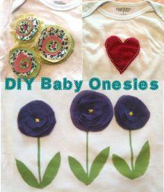 DIY Baby Onesies/Freezer Paper Stencil Tutorial