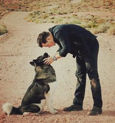 Henry and Kal ♥ Henry Caville, Love Henry, O Superman, Kimberly Ann, Henry Williams, Man And Dog, Clark Kent, Man Of Steel, Puppy Pictures