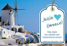 Help Jessie een vakantie naar Griekenland te winnen! #Oil  & Vinegar #Contest  #Greece  #Wedstrijd
