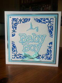 Baby Boy Card - Darcy