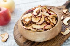 Learn the best way to make dehydrated apple slices in a dehydrator. Use these steps to make dried apple chips you can enjoy as a snack or in recipes. Dehydrated Strawberries, Dehydrated Apples, Dried Strawberries, Dehydrated Food, Dried Fruit, Best Food Dehydrator, Dehydrator Recipes, Fruit And Veg, Fruits And Vegetables