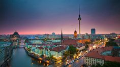Berlin is 9 times bigger than Paris and has more bridges than Venice.