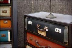 Guardarropa estilo vintage para el dormitorio