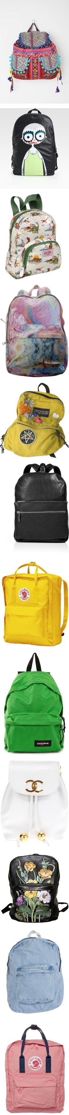 """BackPacks"" by undiscovere-d ❤ liked on Polyvore"