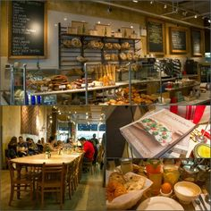 Le Pain Quotidien, Bryant Park, Manhattan, New York, USA