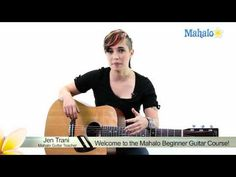 Learn Guitar: Welcome to the Mahalo Beginner Guitar Course , I remember my Dad strumming on a guitar