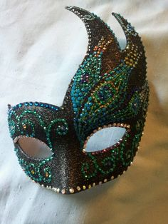 Peacock masquerade ball mask Variations of this mask are for* sale*. themasklady@gmail.com