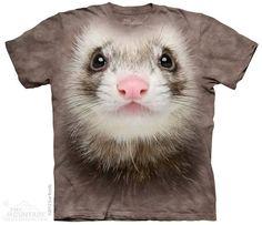 The Mountain - Ferret Face T-Shirt, $20.00 (http://shop.themountain.me/ferret-face-t-shirt/)