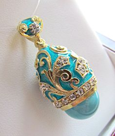 SUPERB RUSSIAN MADE OF SOLID STERLING SILVER 925 & 24K PENDANT GENUINE TURQUOISE #Handmade #Pendant