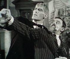 Lurch The Addams Family   Lurch and Gomez Addams - Addams Family Photo (6160690) - Fanpop ...