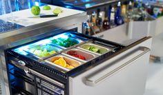 Tobin Ellis Refrigerated Drawer Cabinet » Perlick Corporation