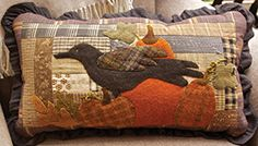 Autumn Time Pillow by Norma Whaley of Timeless Traditions Quilts