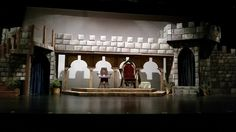Once Upon a Mattress Set and Props Rental #tmtcompany #onceuponamattress