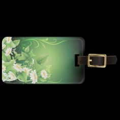 Shop Floral Fashion 7 Luggage Tags created by Ronspassionfordesign. Custom Luggage Tags, Floral Fashion, Luggage Bags, Travel Style, Personalised Luggage Tags, Personalized Luggage Tags