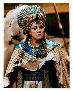 Olga Borodina | Olga Borodina SP 8x10 as Amneris - one of her signature roles.