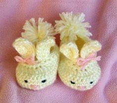 Crochet Baby Booties by Denis2012blr