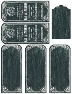 Lilac & Lavender: Printable French lavender and blank chalkboard tags & labels (and much more)