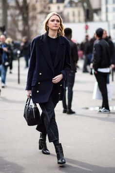 Street style from Paris Fashion Week autumn/winter -Vogue Australia