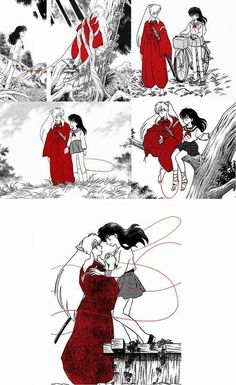 InuYasha & Kagome will always be together no matter how seperate they are from each other, they will reunite in the end!