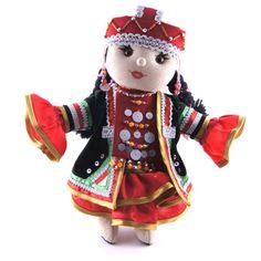 Bashkir-traditional-dressed-doll-Handmade