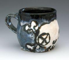 ~Zombie Skull & Crossbones Mug~