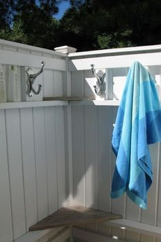 How to build an Outdoor Shower ~ Beach not included!