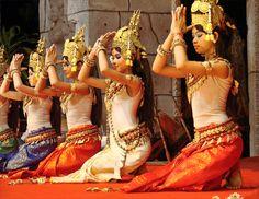apsara | Prière des Apsaras (Cambodge)