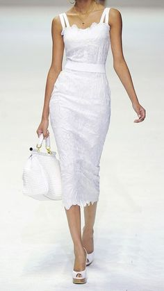 Dolce & Gabbana - Summer  #trends #white