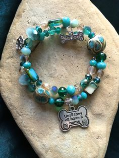 UNTIL They ALL Have A HOME Bracelet-Shades of by WhimsicalMystical