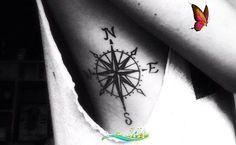 <br> Girl Rib Tattoos, Tattoo Designs, Tattoo Ideas, Diy Love, Love Live, Knitting For Beginners, Compass Tattoo, Neymar, Handmade Jewelry