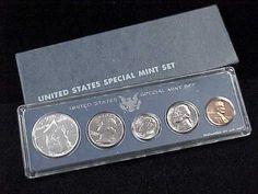 1966 U s Special Mint Set Original Box 40 Silver Kennedy Half Dollar   eBay
