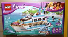 HeartLakeFriends has revealed images on the new LEGO Friends sets for the 2013 Fall lineup. The Fall lineup consists of 6 new sets, which all will be available in August Which LEGO Friends se… Girl Toys Age 5, Toys For Girls, Modele Lego, Lego Friends Sets, Lego Girls, Lego Ship, Lego News, Lego House, Lego Projects