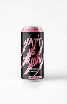 Watt is drink ? design by Quentin Martins Pereira, France.