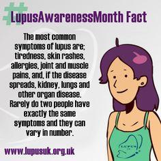 #LupusAwarenessMonth Fact #lupus