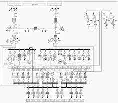 single line diagram of power distribution
