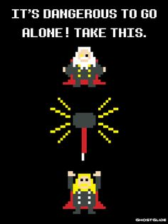 Thor ala Legend of Zelda