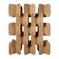 Divisória Elipse - Cartone Design - Móveis de Papelão