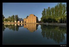 Antigua fábrica de harinas San Antonio (Medina de Rioseco - Valladolid)