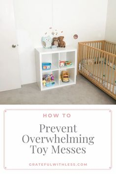 Are toys constantly covering every inch of the floor? Here is my simple three step solution for how to prevent overwhelming toy messes!  #toystorage #minimalism #simplify #momhacks Toy Room Storage, Cube Storage, Playroom Organization, Organization Hacks, How To Be More Organized, Declutter Your Life, Clutter Free Home, Toy Rooms, Mom Hacks