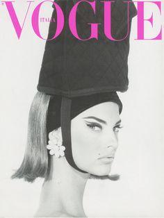 Linda Evangelista, Vogue Italia. Photograph by Steven Meisel.
