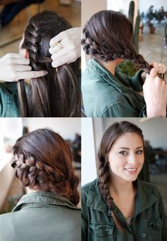 Learn how to do the signature 'Katniss braid'