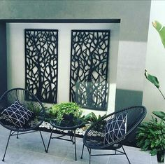 Apartment balcony privacy chairs Ideas for 2019 – Balkony Dekoration Apartment Balconies, Cool Apartments, Pergola Patio, Backyard, Cheap Pergola, Pergola Kits, Pergola Ideas, Kmart Home, Kmart Decor